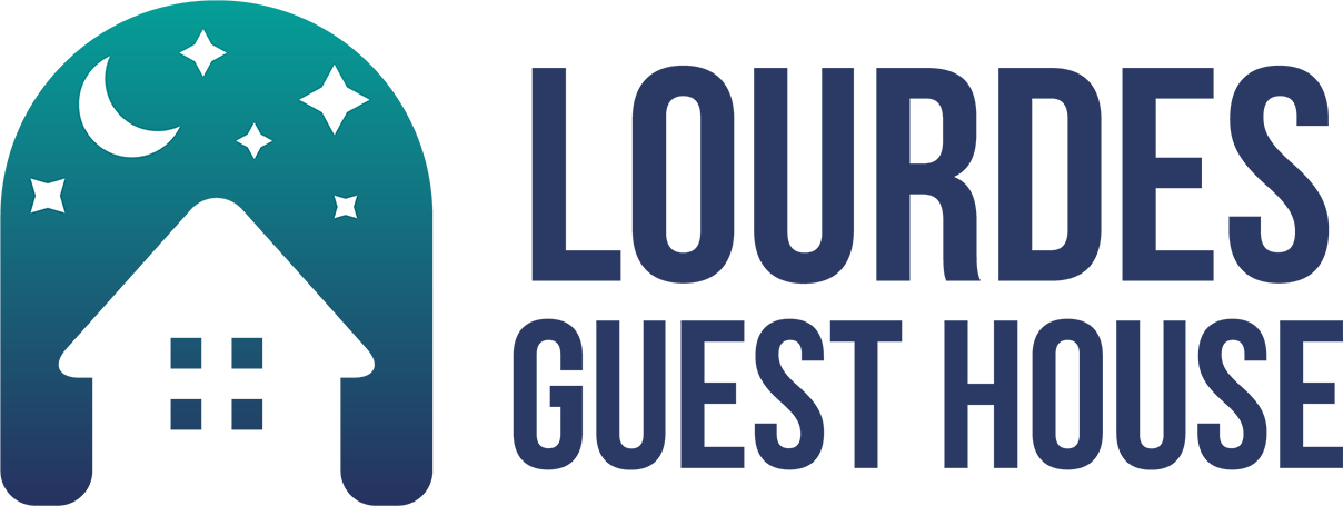 logo lourdes guest house